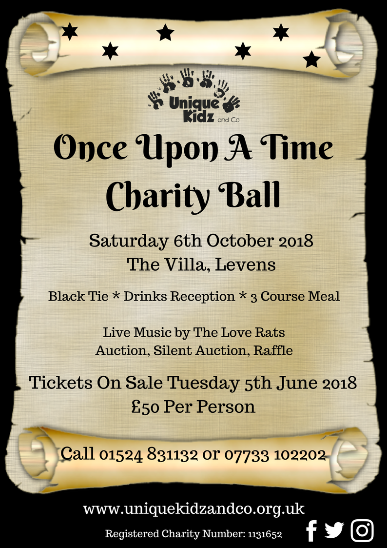 Charity Ball Poster 2018