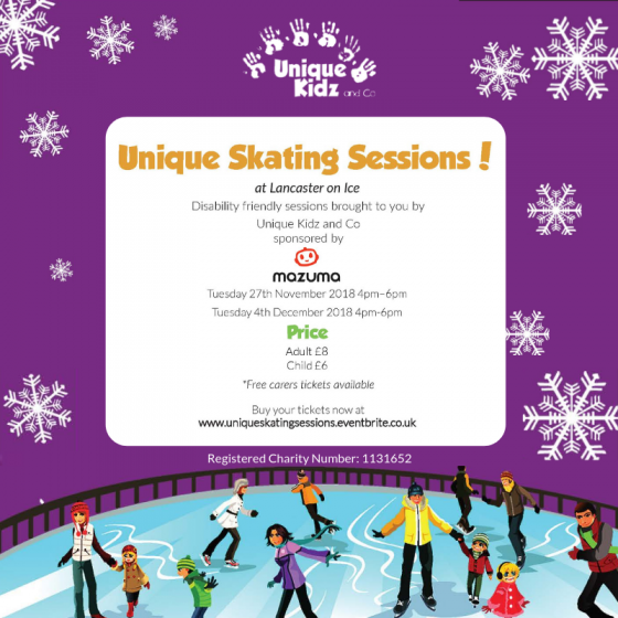 Lancaster on Ice Skating Sessions Announcement