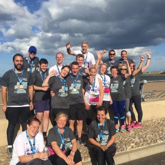 Team Unique Kidz take on the Great North Run