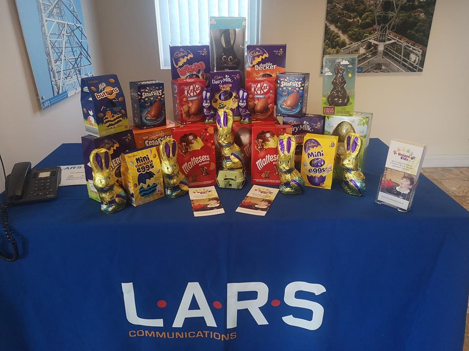 Collection of Easter Eggs from LARS Communications